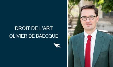 Droit marché de l'Art Paris