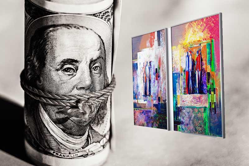 blanchiment et marché de l'art