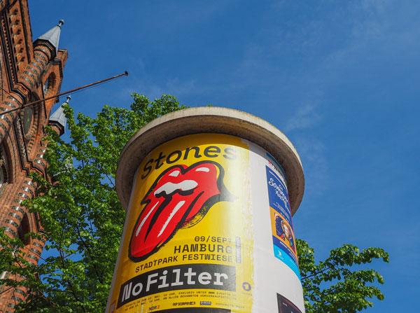 marque renommée Rolling Stones